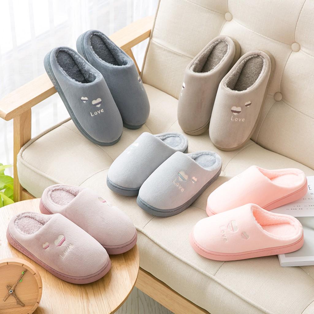 婦女的男士情侶保暖防滑地板家用拖鞋室內臥室鞋