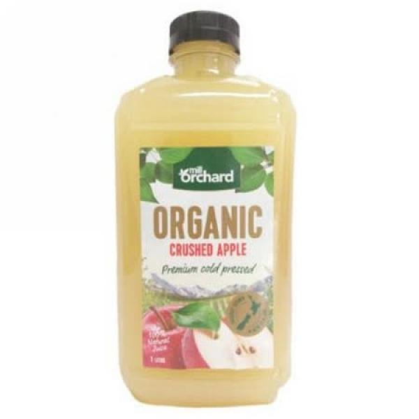統一生機~Mill Orchard有機蘋果汁1000ml/罐 ~(效期2021/11/17)