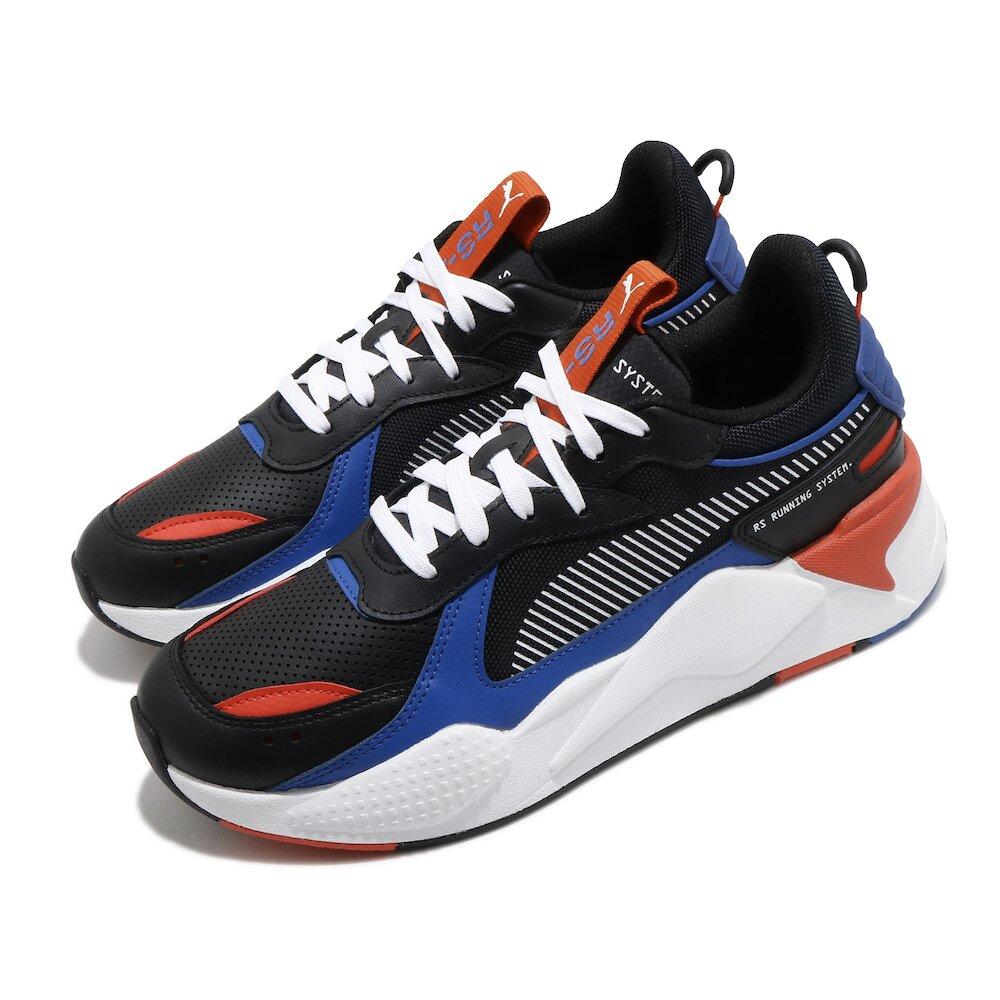 PUMA 休閒鞋 RS-X Winterized 男女鞋 基本款 舒適 簡約 情侶穿搭 球鞋 黑 紅 [37052206]