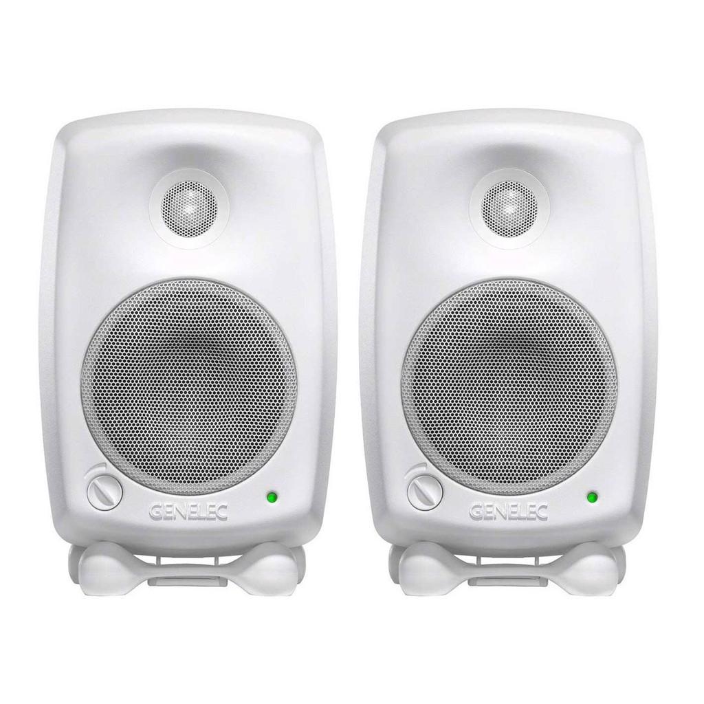 Genelec 8010A 白色 3吋主動式監聽喇叭 芬蘭製造 公司貨 加贈ISO-PUCK mini【民風樂府】