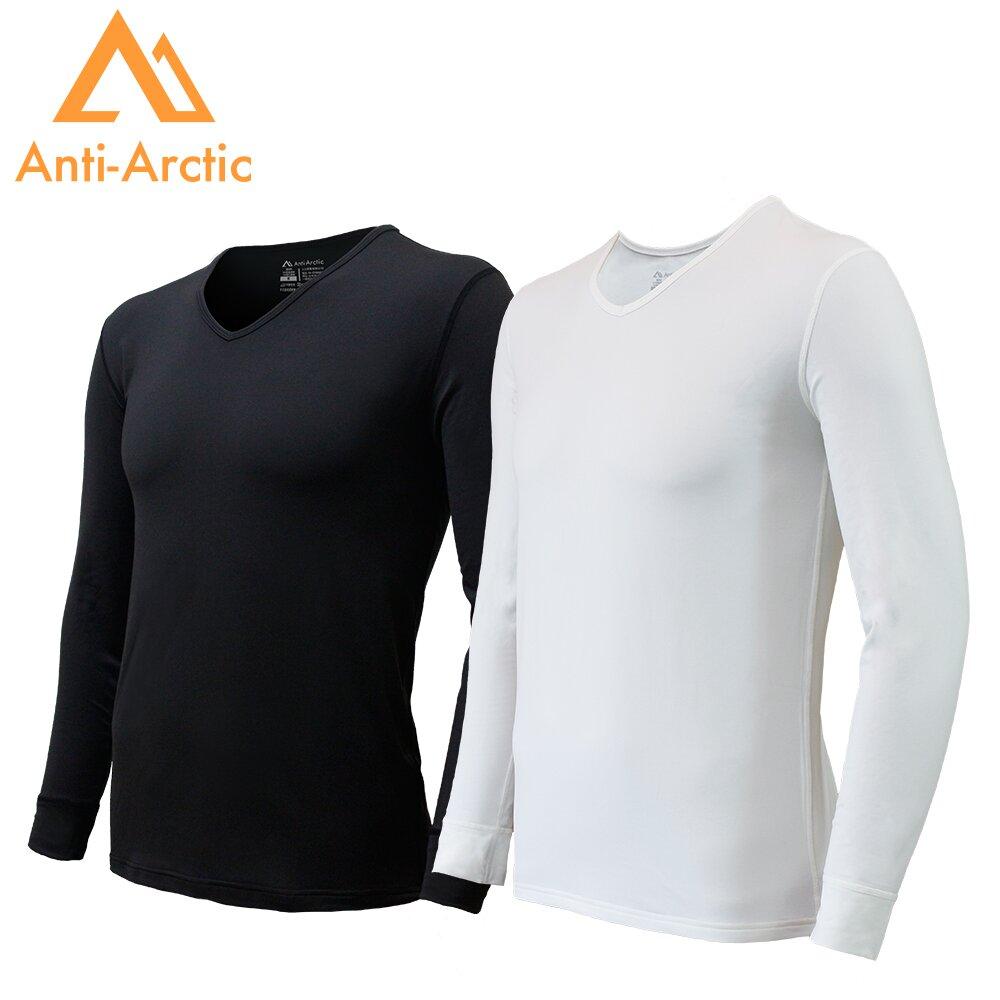 3M-【Anti Arctic】遠紅外線機能衣-男V領(2色可選)