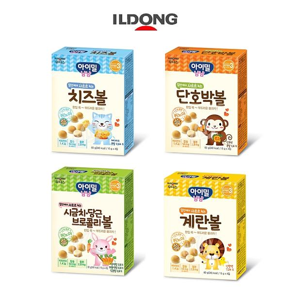 韓國 ILDONG 日東 藜麥小饅頭 寶寶餅乾 寶寶小饅頭 幼兒小饅頭 四種口味