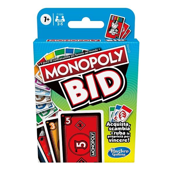 地產大亨BID競標卡牌遊戲組