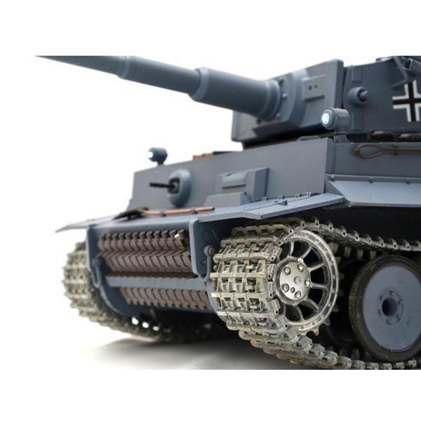 升級 1:16 恆龍 德國虎式3818-1 PRO 戰車 坦克車 冒煙 聲光 BB彈 金屬履帶