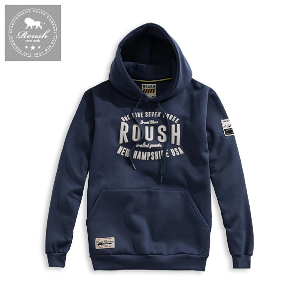 【Roush】 ROUSH美式字樣刷毛帽TEE -【2012689】