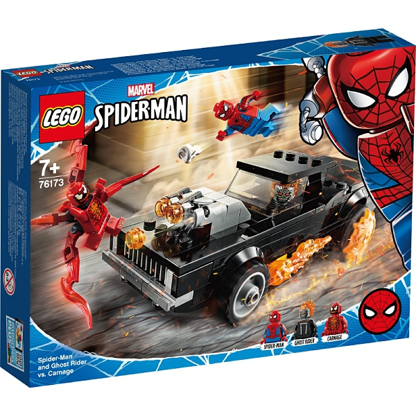樂高積木Lego 76174 Spider-Man and Ghost Rider vs. Carnage