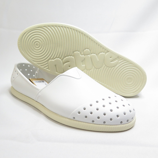 Native VERONA 洞洞鞋 防水 防水鞋 111018001950 男女款 全白【iSport愛運動】