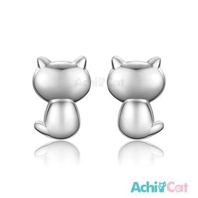 925純銀耳環 AchiCat 純銀飾 小貓 GS7097