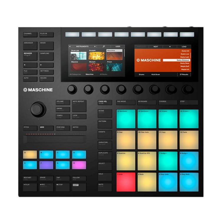 NI Native Instruments MASCHINE MK3 MK III PAD 錄音介面 編曲 現場 公司貨
