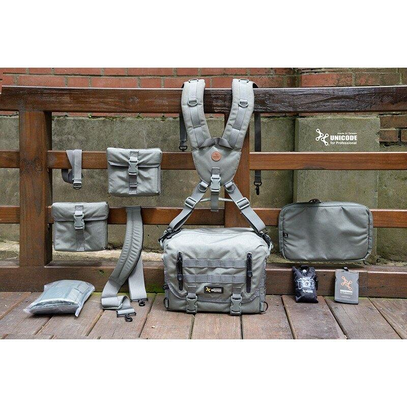 UNICODE H1N1F1 Camera Bag Set 小全套攝影包(三色供選)軍規/後背/側背/斜背