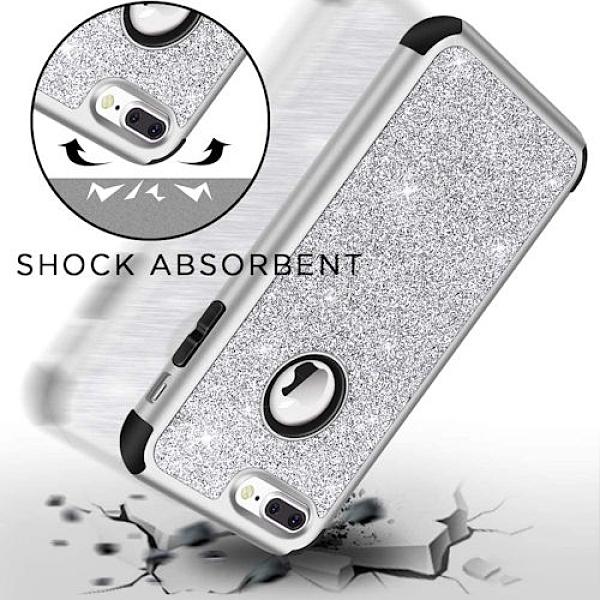 iPhone 7 Plus/8 Plus 重型耐震防御保護殼(銀)