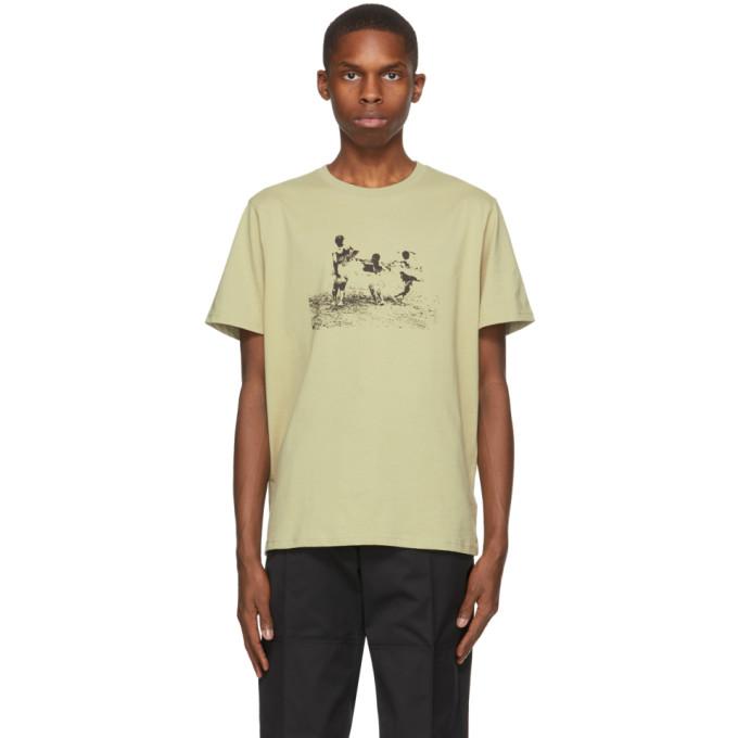 Eastwood Danso 绿色印花 T 恤