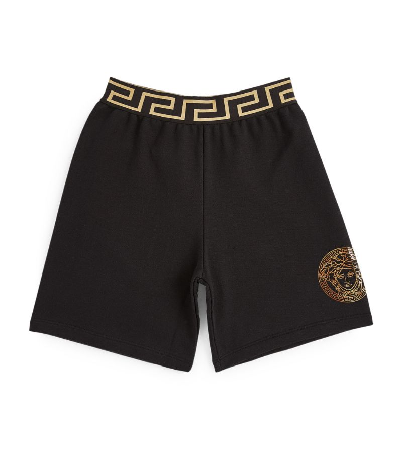 Young Versace Metallic Medusa Logo Boxer Shorts (4-14 Years)