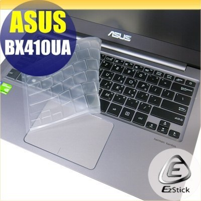 【Ezstick】ASUS BX410 BX410UA 奈米銀抗菌TPU 鍵盤保護膜 鍵盤膜