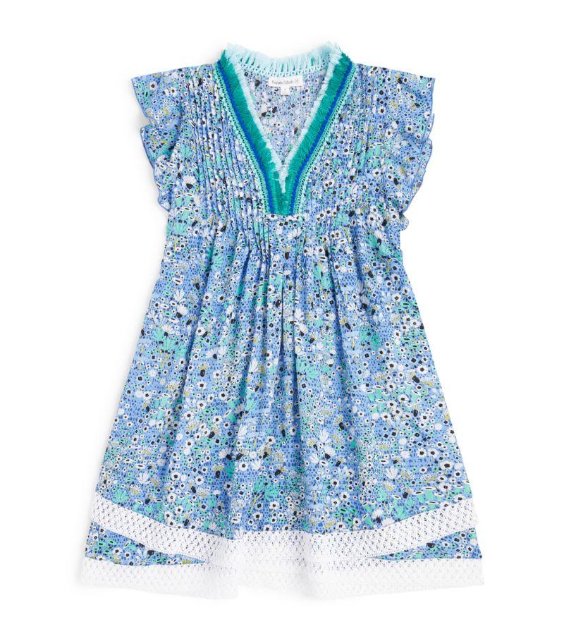 Poupette St Barth Kids Sasha Lace-Trim Dress (5-12 Years)