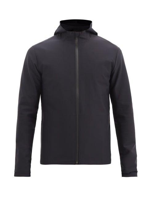 Castore - Logo-print Technical-jersey Hooded Jacket - Mens - Dark Navy