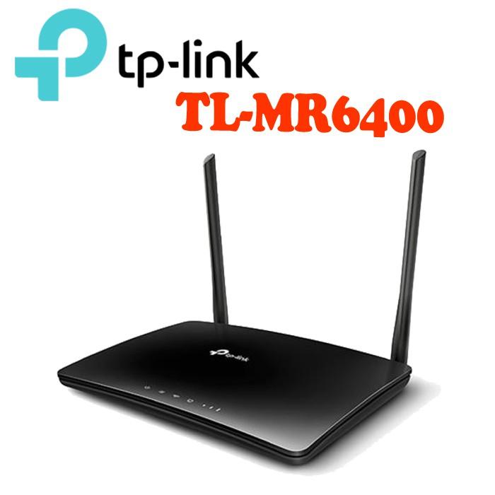 TP-Link TL-MR6400 300Mbps 4G LTE SIM卡無線網路 家用 wifi路由器 分享器