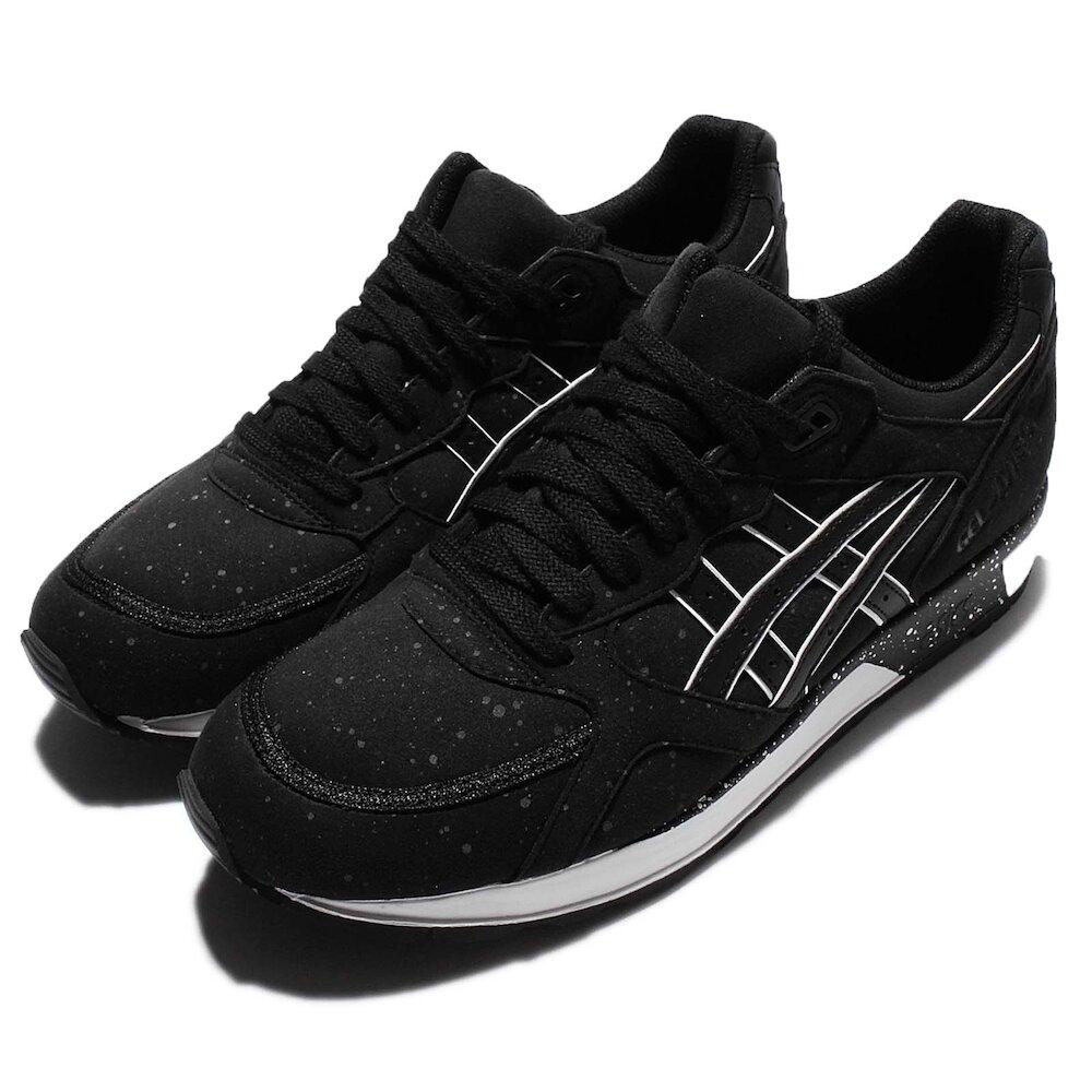 ASICS 休閒鞋 Gel-Lyte Speed 復古 男鞋 亞瑟士 潑墨 點點 低筒 球鞋 穿搭 黑 白 [H6K3Y9090]
