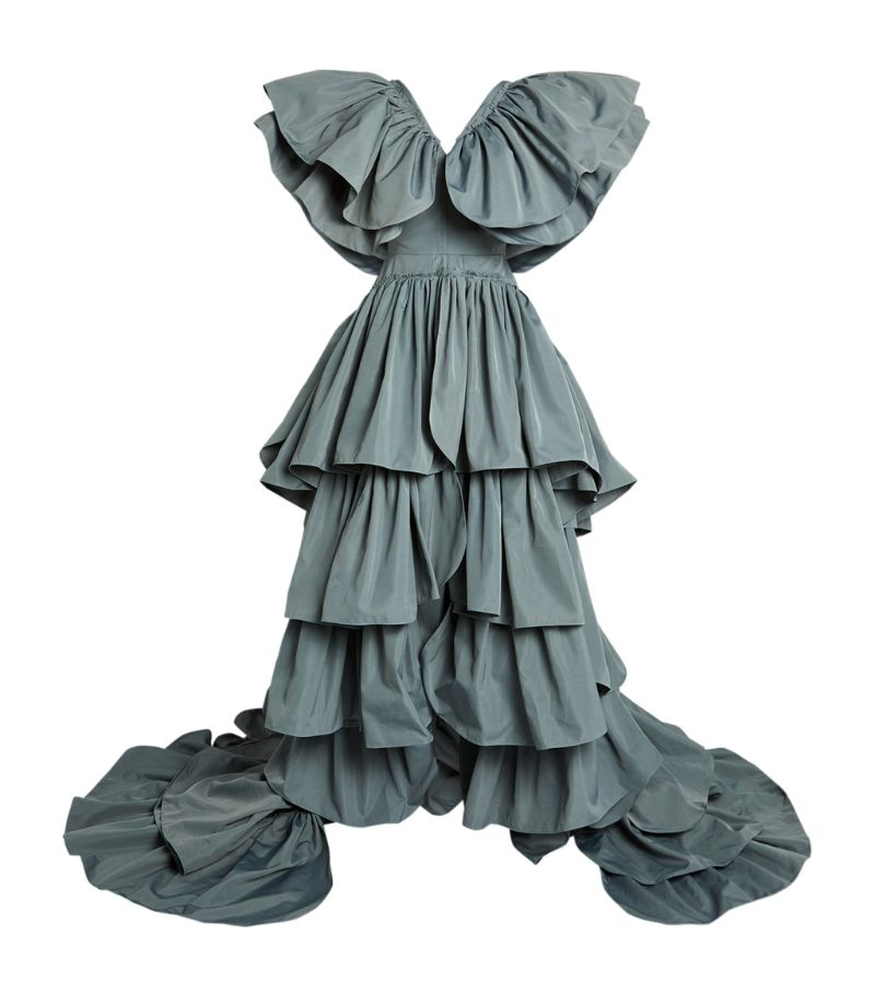 Maticevski Aroused Ruffle Gown