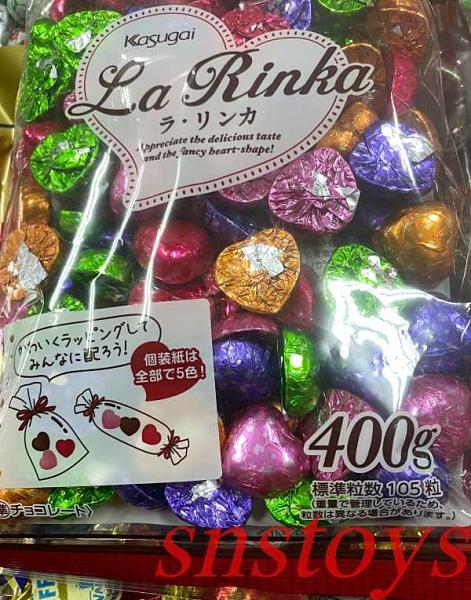 sns 古早味 進口食品 巧克力 春日井巧克力 心心巧克力 愛心巧克力 心型巧克力 400g 日本進口