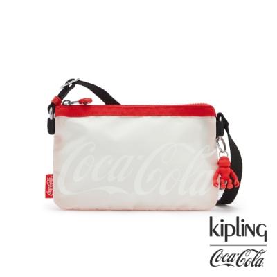 Kipling | Coca-Cola 聯名款可口可樂標誌性色系三夾層配件包-CREATIVITY XB