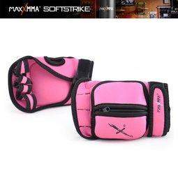 【拳運會】MaxxMMA 負重手套/桃紅/1kg - 沙包 沙袋 拳擊 散打 搏擊 MMA 格鬥 健身 重量訓練