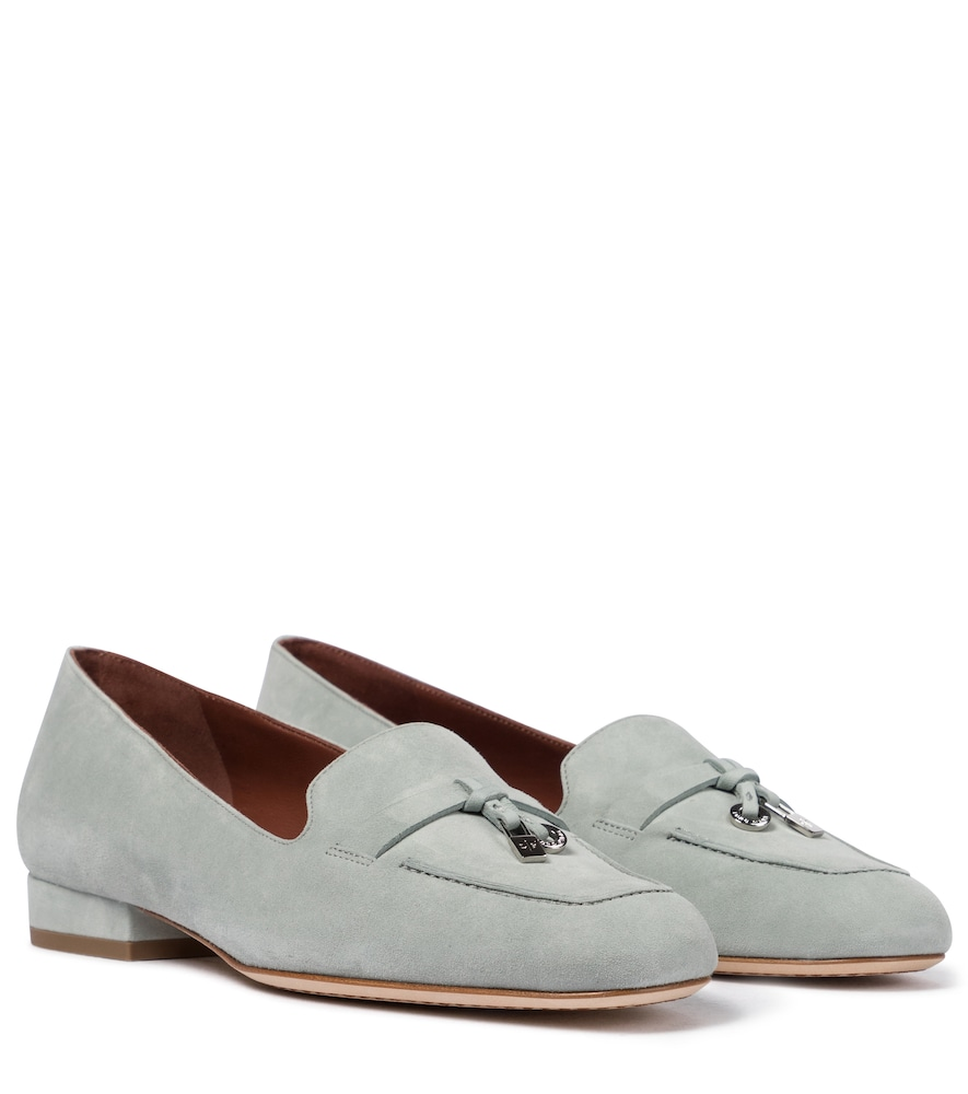Summer Charms suede loafers