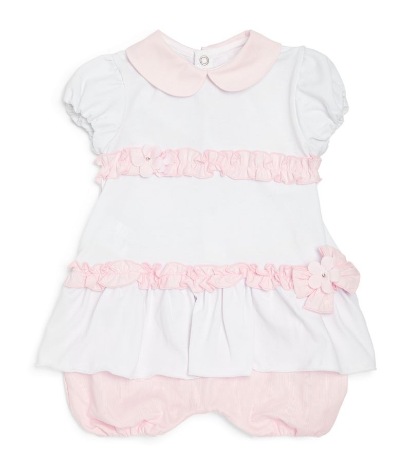 Bimbalo Bow-Detail Frilled Playsuit (1-24 Months)