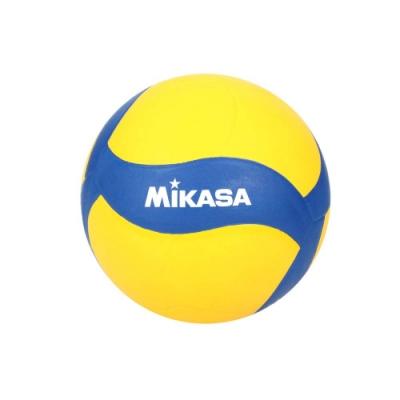 MIKASA 螺旋型軟橡膠排球#3-訓練 3號球 運動 V023WS 黃藍白