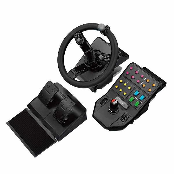 Logitech G Farm Simulator 第二代 Steering Wheel Controller for Farm Simulation 19 PC/PS4 [2美國直購]