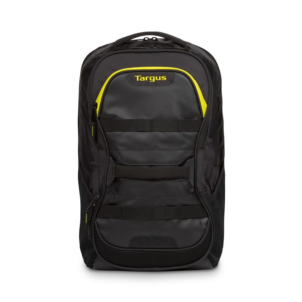 【Targus】15.6吋 Fitness 後背包#黑黃 (TSB944EU-71)