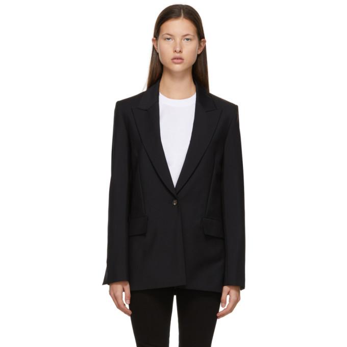 Victoria Victoria Beckham 黑色 Boxy 西装外套