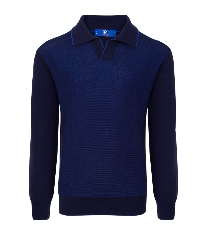 Stefano Ricci Kids Cotton Polo Sweater (4-16 Years)