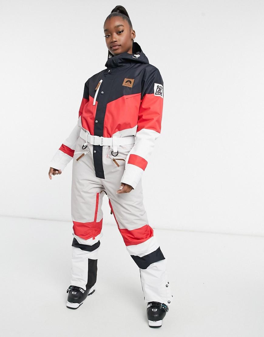OOSC Frank the Tank women's ski suit in multi