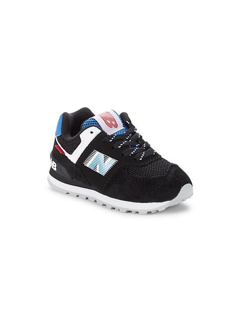 Kid's 574V1 Suede & Mesh Sneakers