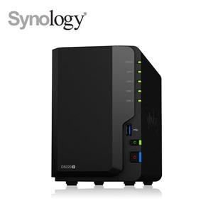 @電子街3C 特賣會@送到府安裝服務卡Synology DS220+ 含Seagate(ST4000VN008*2台)