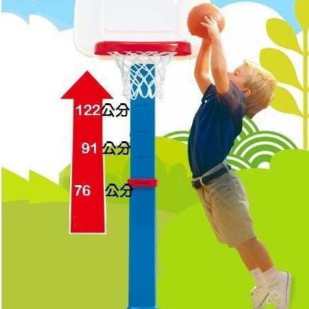 可調高度籃球架 最高150cm 5段高度 兒童籃球架 投籃 成長型籃球架~