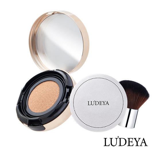 LUDEYA 3合1微臻全能氣墊人氣組(3合一氣墊粉餅+蜜粉)
