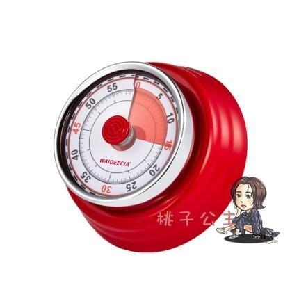 計時器 學生定時器提醒器廚房專用倒家用時間管理器工具磁吸機械式