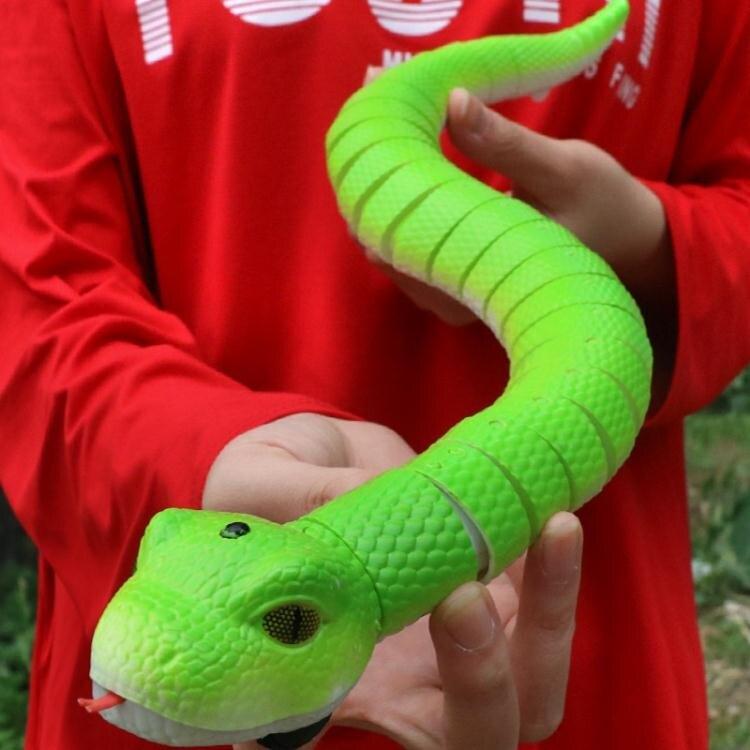 夯貨折扣!遙控蛇抖音玩具整蠱整人創意惡搞恐怖仿真水蛇嚇人神器真的蛇會動