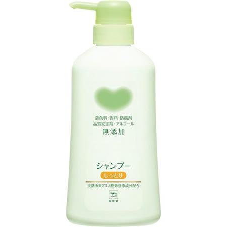日本【牛乳石鹼】牛乳石鹼 弱酸性無添加洗髮精-滋潤500ml
