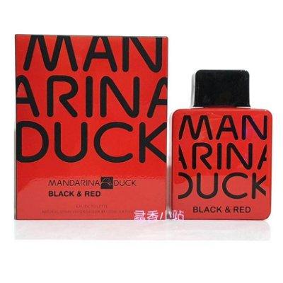 《尋香小站 》Mandarina Duck Black & Red 淡香水100ml  全新正品/外盒些微凹損