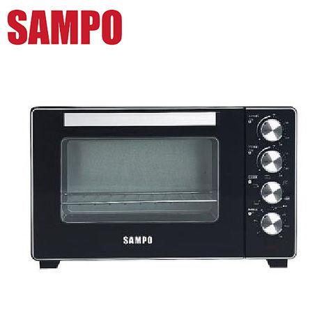 SAMPO 聲寶 32L烘烤雙溫控旋風電烤箱 KZ-XR32F -