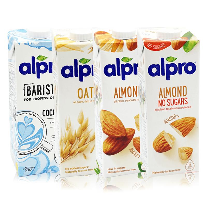 【ALPRO】植物奶燕麥奶杏仁奶飲品系列(2 瓶)