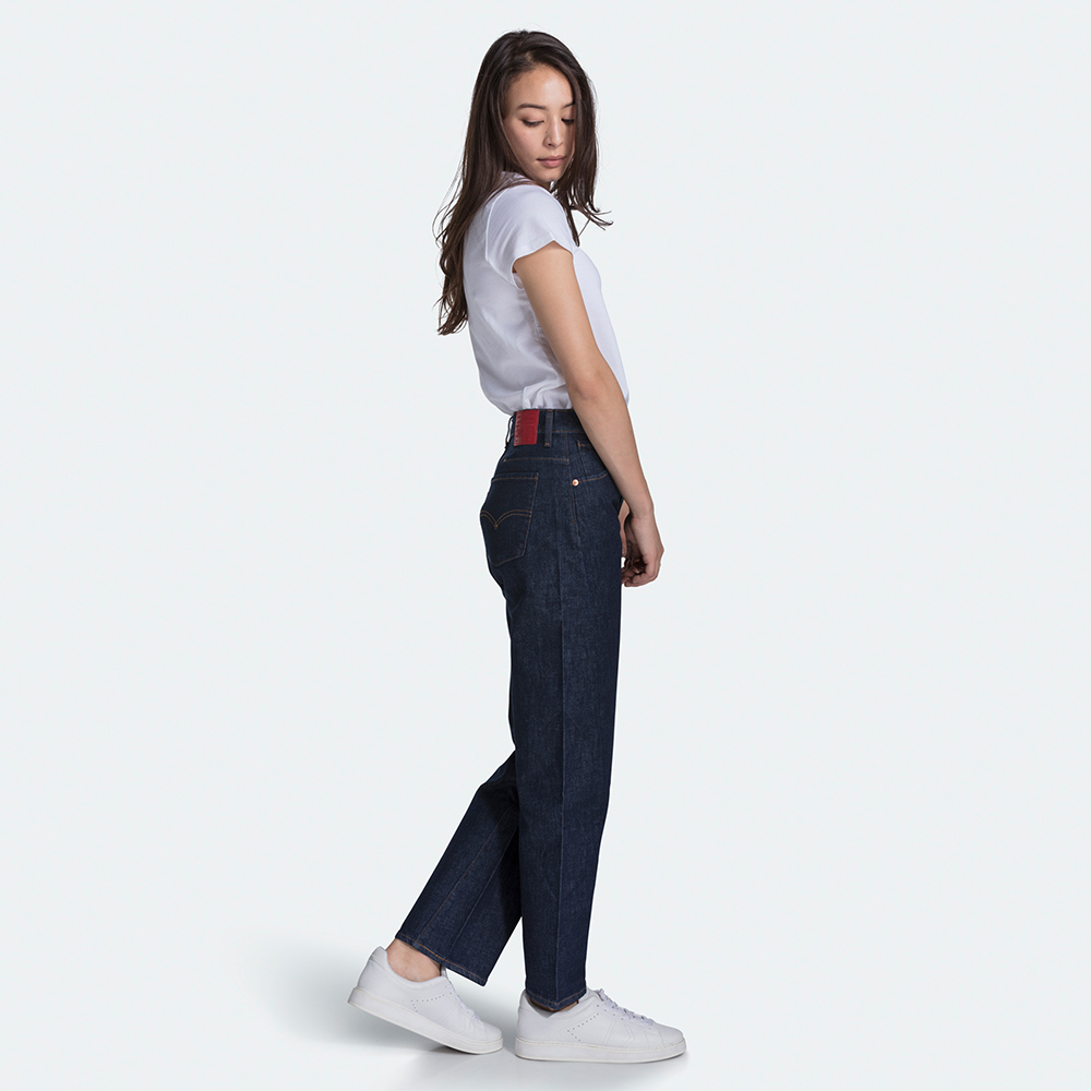 Levis 女款 Baggy 高腰寬鬆版繭型牛仔褲 / LEJ 3D褲 / 彈性布料-熱銷單品
