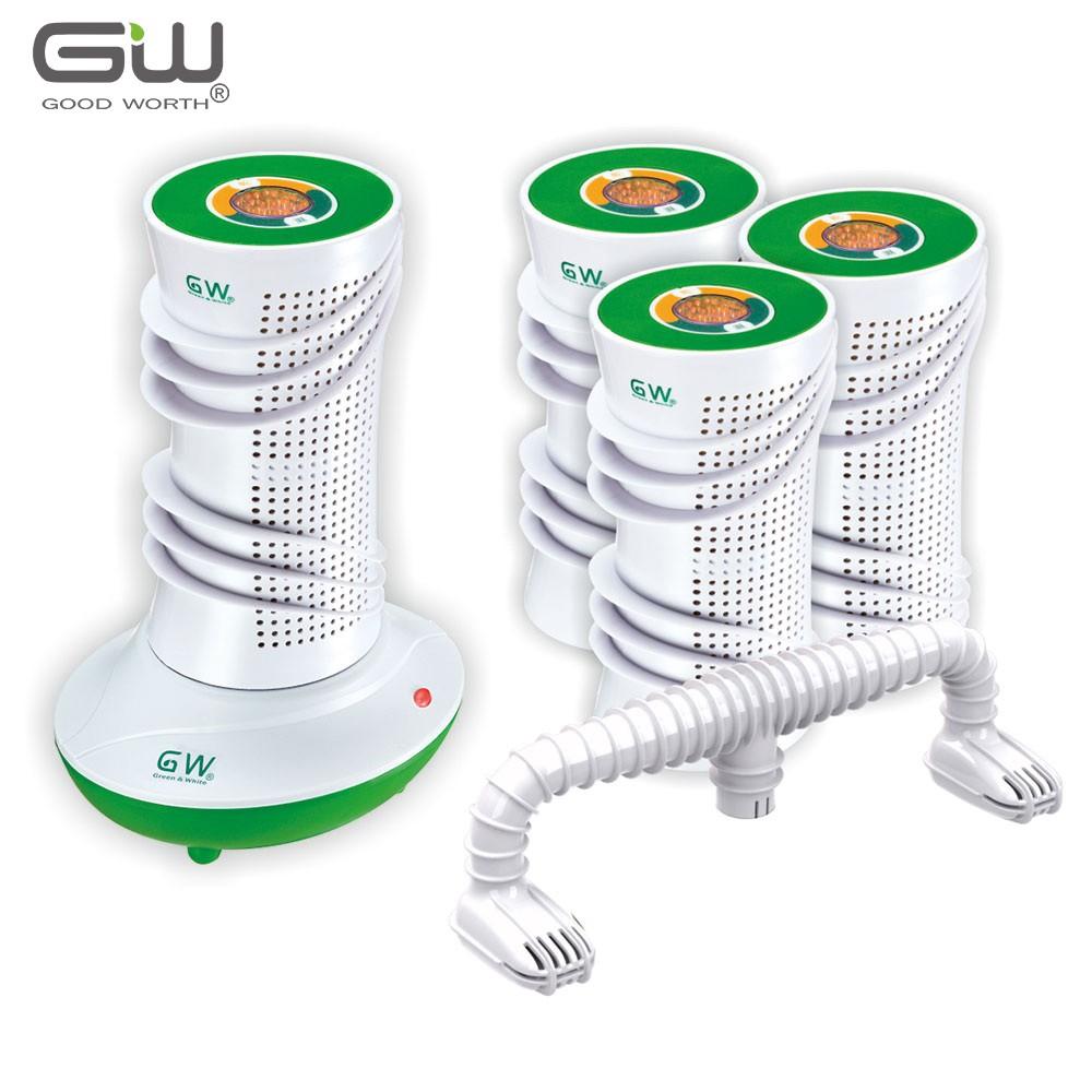 GW 水玻璃 旋風型分離式除濕機 6件組
