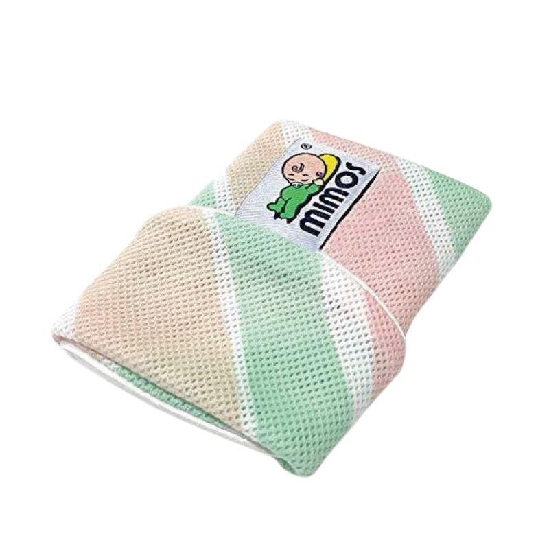 Mimos 3D超透氣自然頭型嬰兒枕S【枕套-棒棒糖】(0-10個月適用)★愛兒麗婦幼用品★