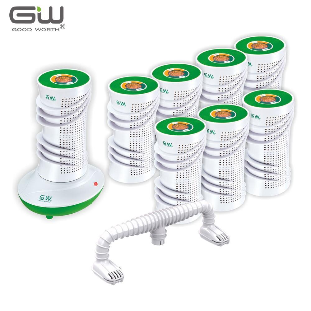 【GW 水玻璃】分離式除濕機 經濟10件組
