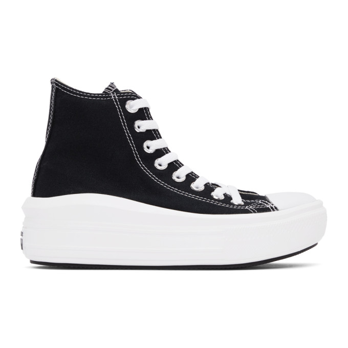 Converse 黑色 Chunk Taylor All Star Move 高帮运动鞋
