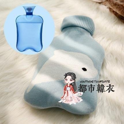 熱水袋 加厚沖水注水頸椎暖水袋女敷肚子大小號隨身學生灌水暖手寶